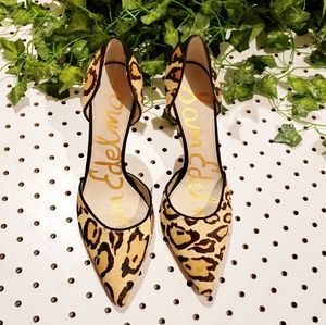 Like New Sam Edelman Cheetah Heels